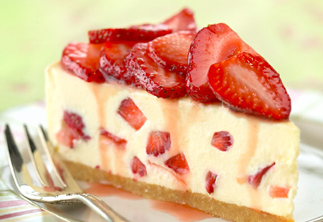 Strawberry cheesecake | Bayonnaise